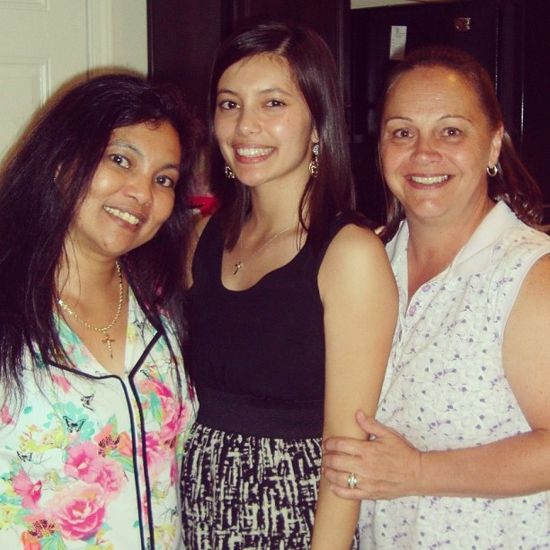 My mom, me and my mother in law.