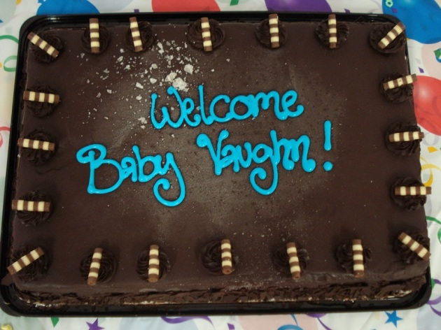Baby Vaughn Cake