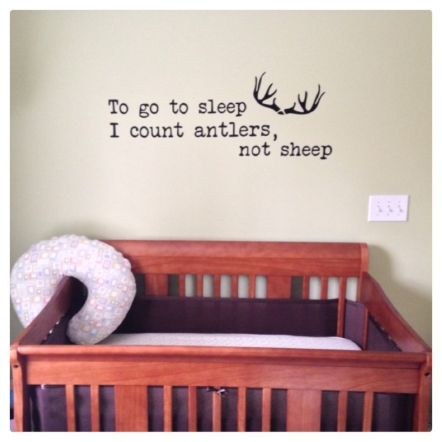 Crib decal