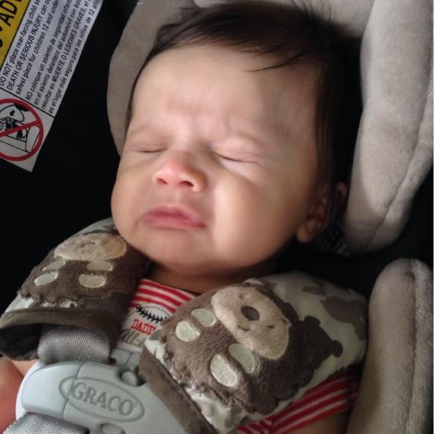 Mid sneeze. ;P