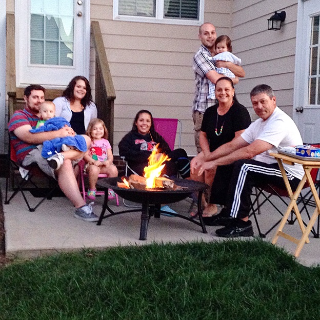 This is Hubs' side of the family. :]